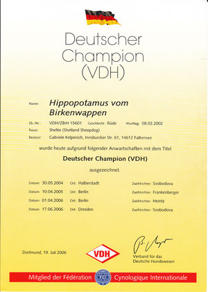 Deutscher Champion VDH