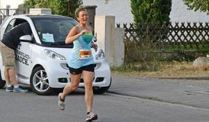 Lisa während des Laufs