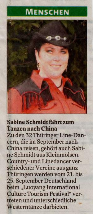 Thüringer Allgemeine 19.07.2012