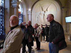 Paris 2012 - Marie du11e, Vorhalle