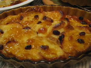 Bread Pudding  by Hiro