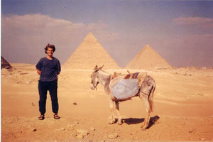 Egypt with my faithful guide
