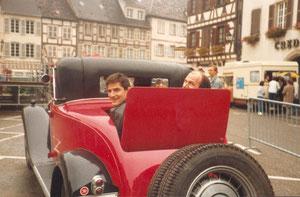 1986 in Molsheim: Bugattitreffen