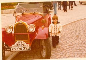ca. 1976 bei einem Schnauferltreffen