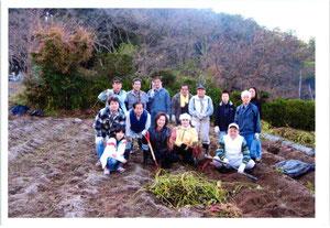 畝傍山 県有地 芋ほり