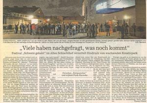 'Schwein gehabt', BNN, 27. Sept. 2010
