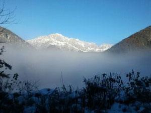 Untersberg im Winterkleid