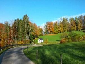 Wunderbarer Wanderherbst in Oberau