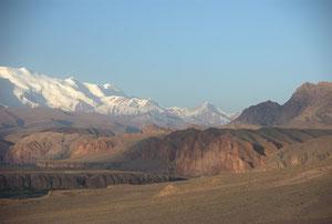 Nuit face au Pamir