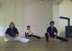 Stretching beim Taiji