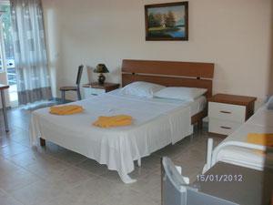 Hotels-Zimmer