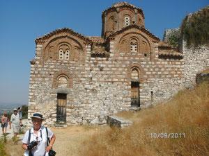 Berat.UNESCO-Wltkultuerbe. Alte ortoksische Kirche.