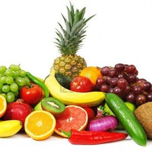 Frutas y verdugas alérgenos