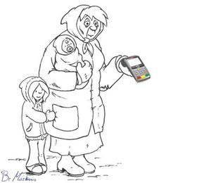 Mendiga con datáfono para tarjetas de crédito online