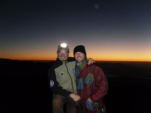 arrivo all'alba...monte Meta mt2242....