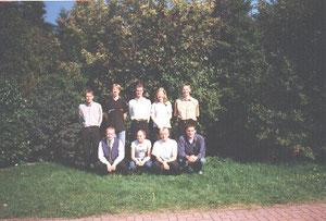 v.L. n.R.: Christian Geesken, Stefan Geers, Frank Kerßens, Helga Schütten, Wilfried Sievers, Frank Jansen, Karin Schürmann, Michael Klaas und Holger Huckelmann