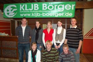 v.L. n.R.: Gerrit Schwarte, Andrea Eilers, Ulrike Geers, Mareike Gößling, Hermann Ubbenjans, Marina Funke, Robert Becker, Ralf Hunfeld