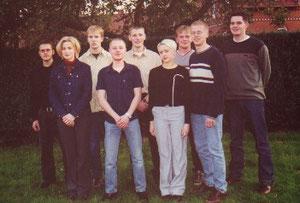 v.L. n.R.:Christian Geesken, Kristina Többen, Stefan Geers, Frank Jansen, Wilfried Sievers, Karin Schürmann, Werner Jansen, Michael Müller und Holger Hukelmann