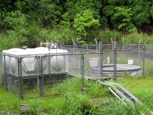 霧島市水源地ポンプ施設
