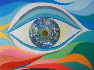 Eye in Pollock's style