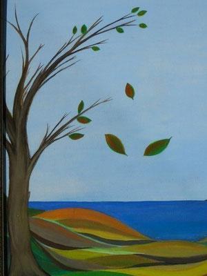 Falling Leaves (for Aeronwy Thomas)