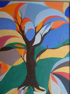 Colour Tree (for Aeronwy Thomas)