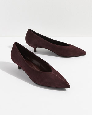 Jigsaw suede shoes