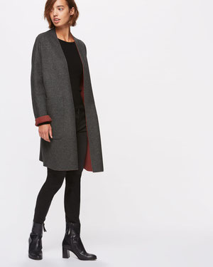 Jigsaw reversible coat