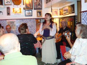 Tasca do Jaime ではよく歌いました。