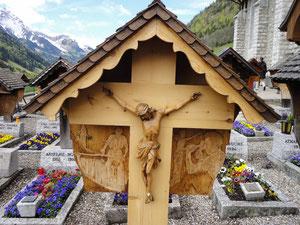 Tombe de Walter Cottier et lien sur la vidéo de PAJU