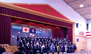 中山小学校の卒業生です・「おめでとう!」・・お招きいただいて列席させて頂きました。この子ども達の明るい未来を願わずにはいられません。