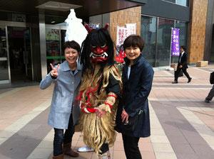 仙台駅前で・・・