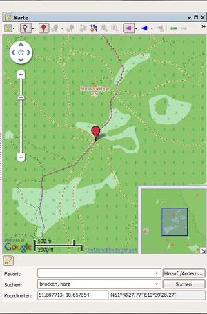 Geotaggen Digitalfotos