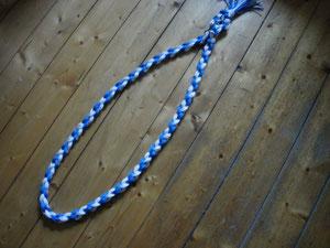 Halsriemen aus Polypropylen in blau,weiß