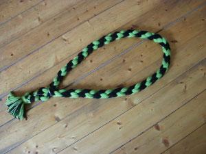 Halsriemen hellgrün,schwarz