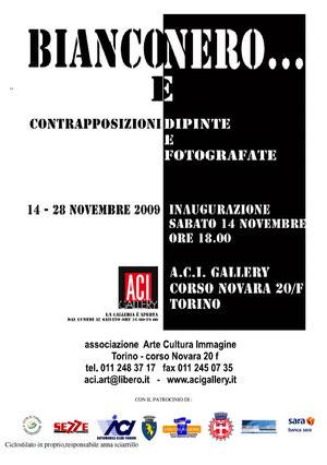 Mostra collettiva Bianco e Nero - Torino 2009