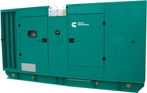 Enclosed genset