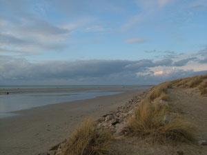 la plage de Sainte-Cécile