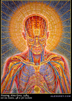 Praying, Alex Grey