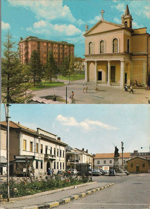 La Piazza ieri e Oggi