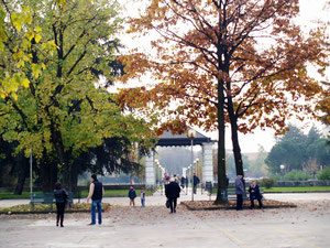 Ingresso Parco P.zza Libertà