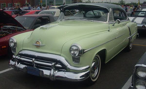 1956 Oldsmobile 88 2-door Coupe
