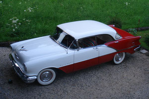 1956 Oldsmobile Holiday Sedan