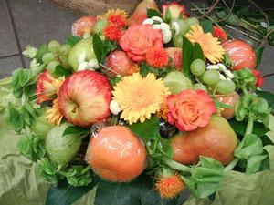 Die Früchte, reif und gesund ..