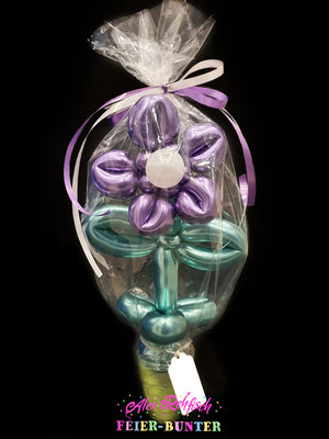 C 053 - Candy Cup Chrome Bubble Blume - 13,90€ ( Folienverpackung +1€ )