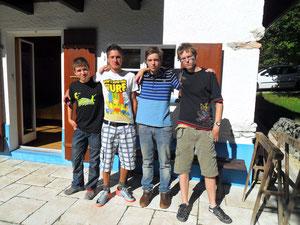 Die tolle Mannschaft des TKC Grenchen 09