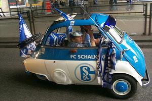 Und gehn die Schalker auf die Reise