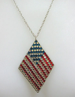 J59 - Flag Necklace