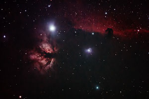 Maglica plamen NGC2024 i konjska glava IC434