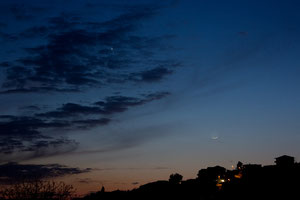 Mjesec Merkur i Venera 15.4.2010.